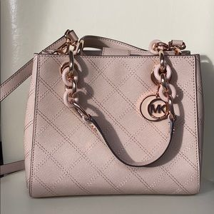 Michael Kora Rose Gold Small Satchel